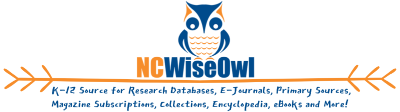 NC WiseOwl Online Resources - Contact media coordinator or school for password